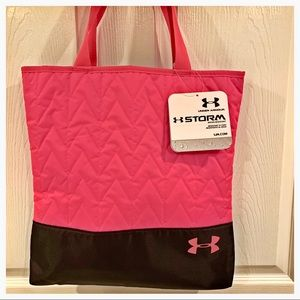 NWT▫️UNDER ARMOUR Neon Pink Storm Tote▫️